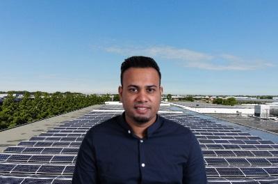 Solar specialist Sandesh Sewdien