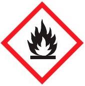pictogram brandbare stoffen