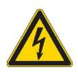 Gevaar voor elektrische spanning