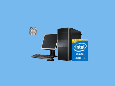 PC I5-10400 16GB Intel Core I5 2,9GHz 2x250GB RAID SSD 1TB H