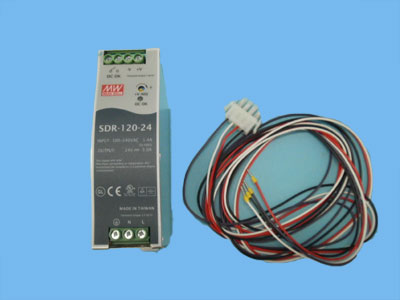 Conn Actuatorvoeding 24 VDC 120 watt los