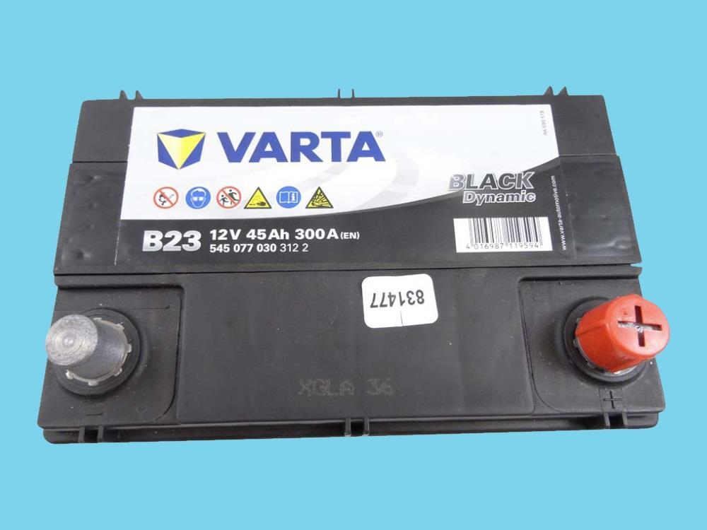 Accu Black Dynamic 12V 45Ah