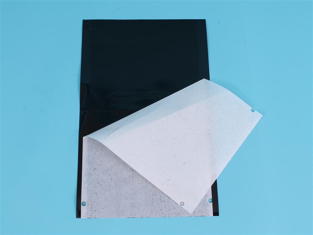 Signaalplaat tuta absoluta zwart [40x25cm]
