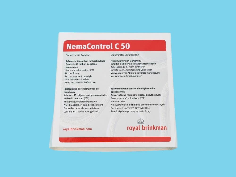 NEMAcontrol carpocapsae (powder) [50 miljoen] (RB)
