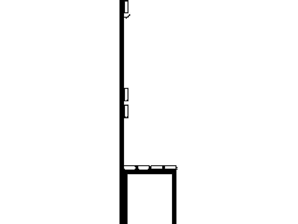 Garderobebank lengte 1500mm beukenhout leuning