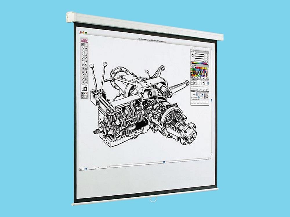 Projectiescherm vast 1740 x 1310 mm