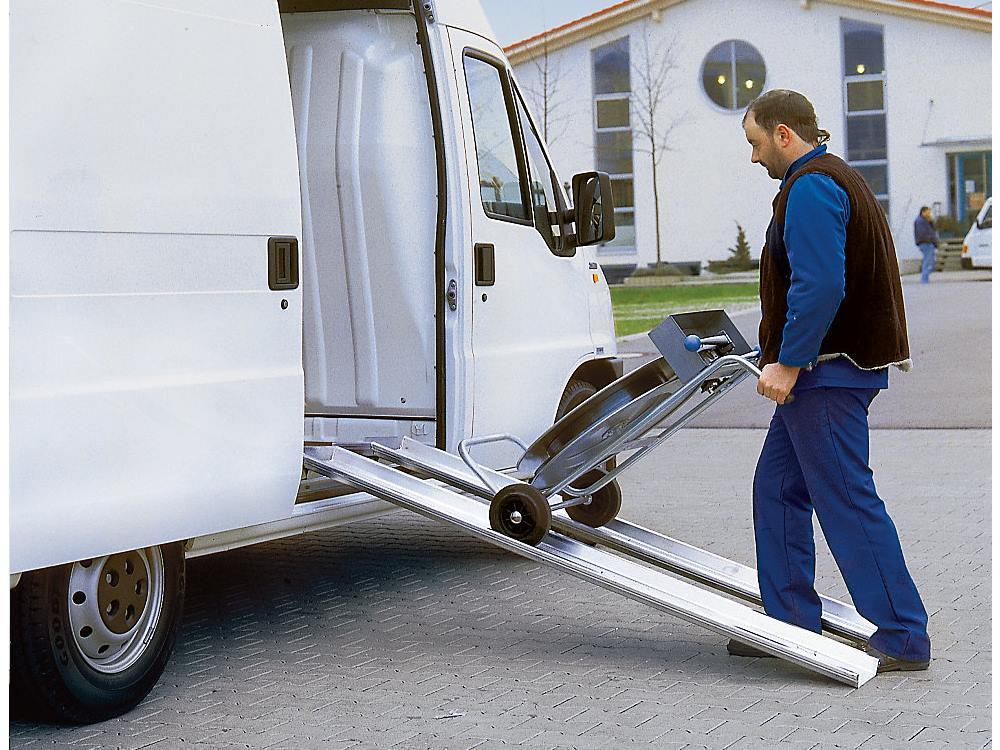 Aluminium laadrail draagvermogen: 500 kg