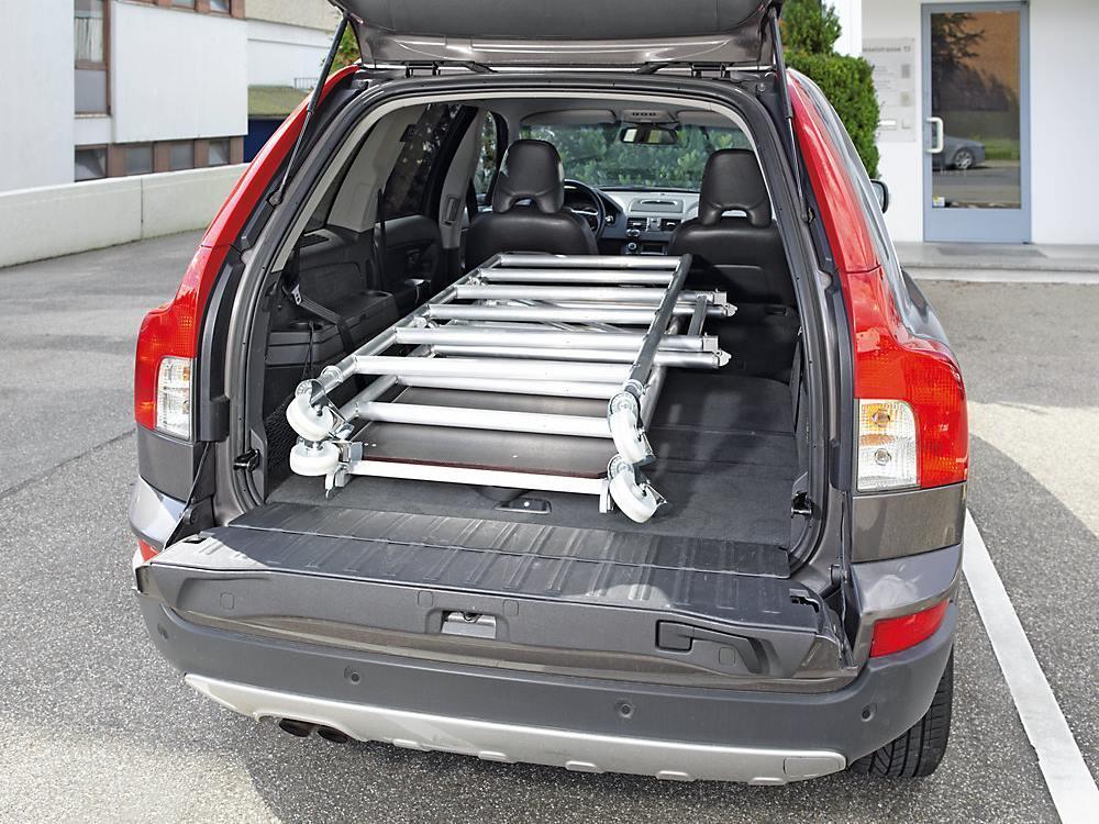 Vouwsteiger aluminium 1,55 x 0,6m 3 modules
