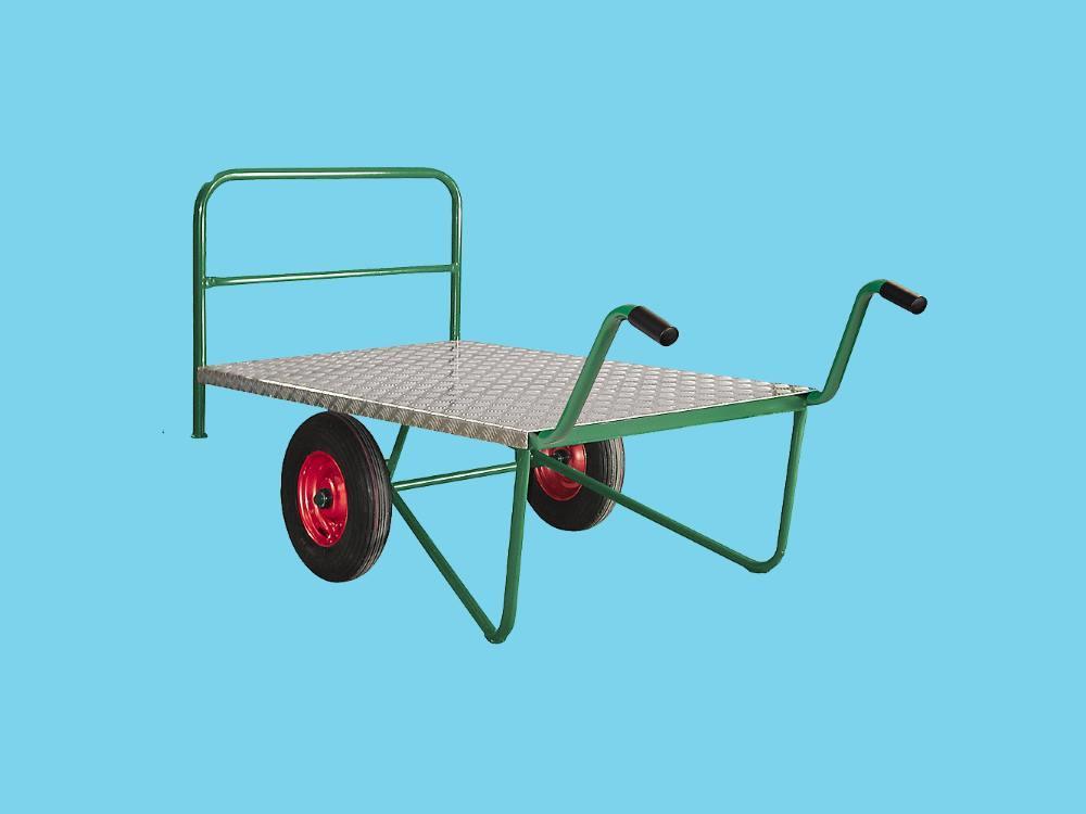 Grootgoedwagen oppervlak aluminium 200x85x99 cm