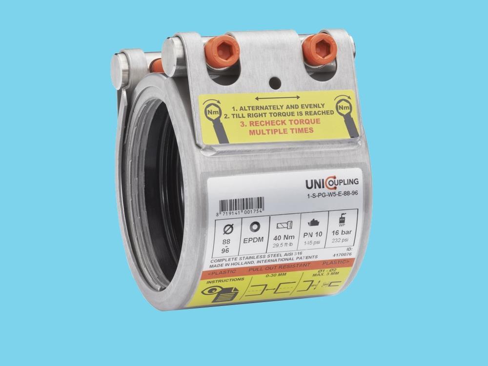UNI-Plastgrip S 75mm PN16