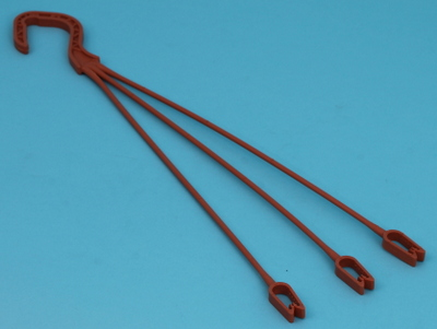 Container hanger 36cm unifast terracotta 500 ds