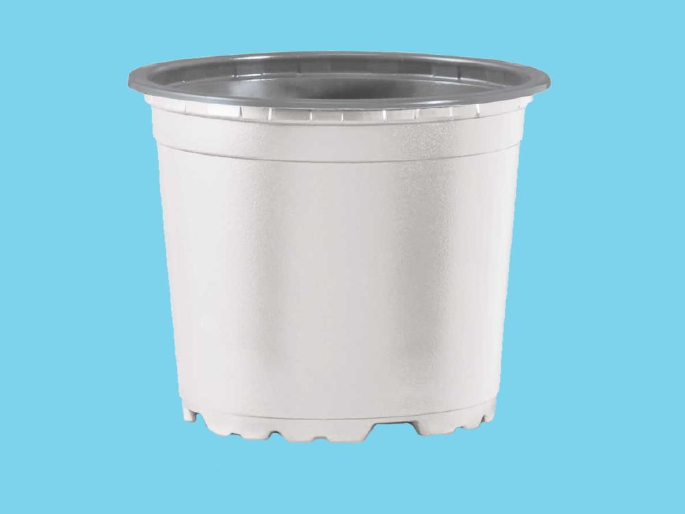 Teku pot VCG 10 recyclebaar wit/grijs 27360  ep