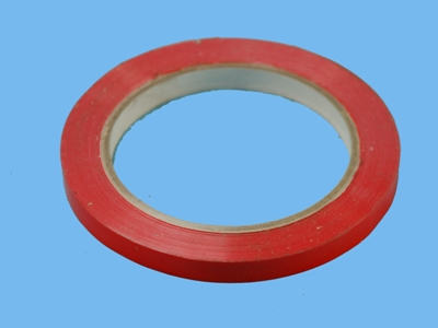 Tape rood 9mm 66mtr