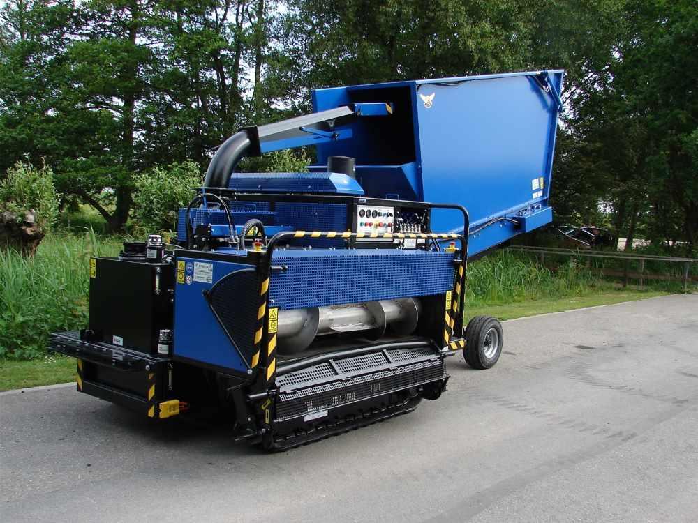 Hydraulische buffercontainer Bio Chopper Compact 3000 liter