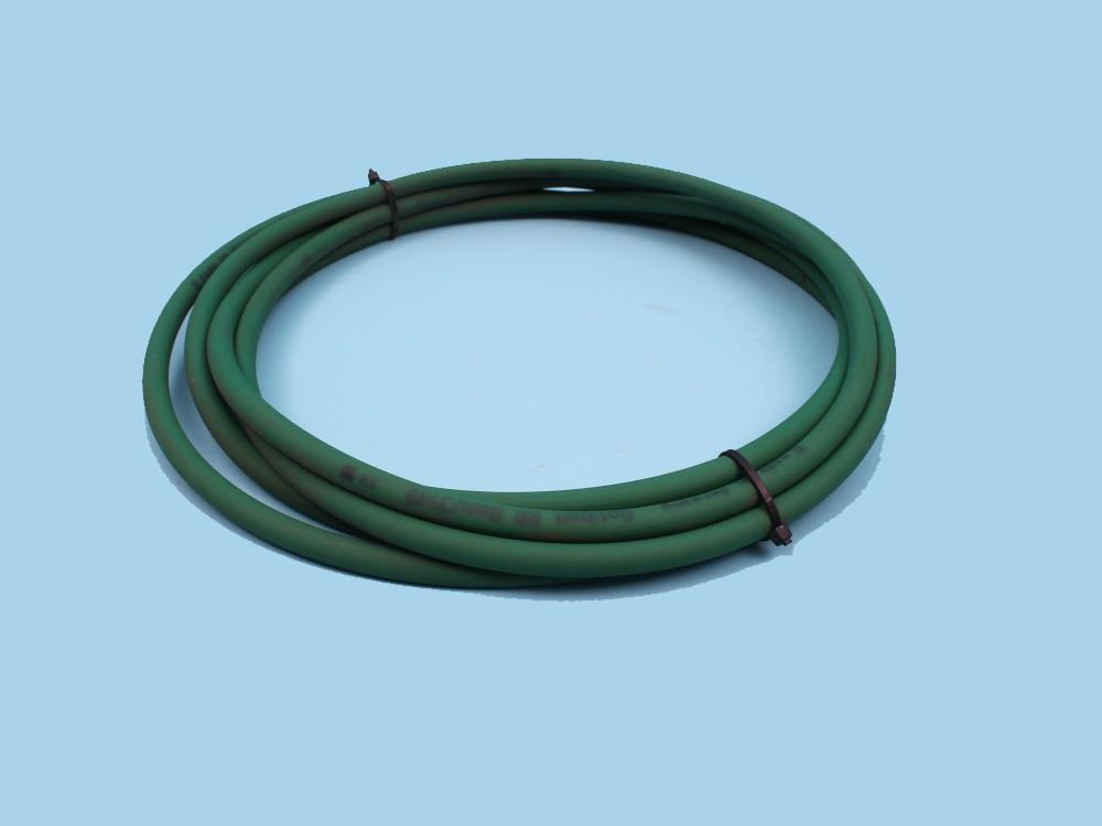 Rondsnaar 8mm L=3380 groen (afvoerketting)
