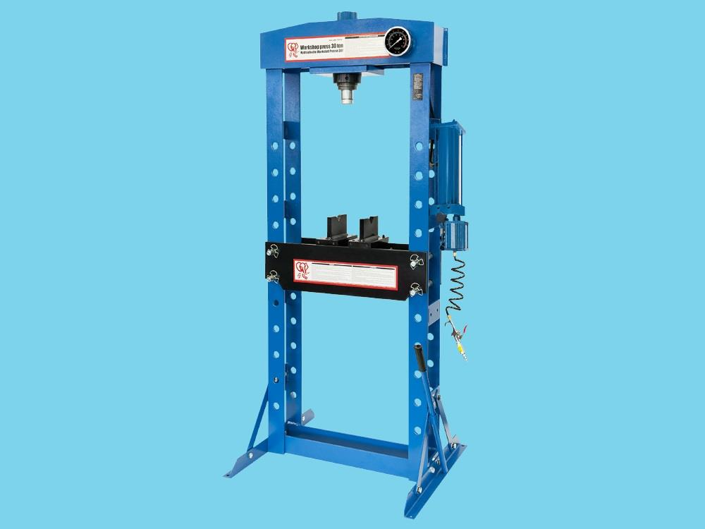 Pneumatisch-hydraulische Pers 30ton