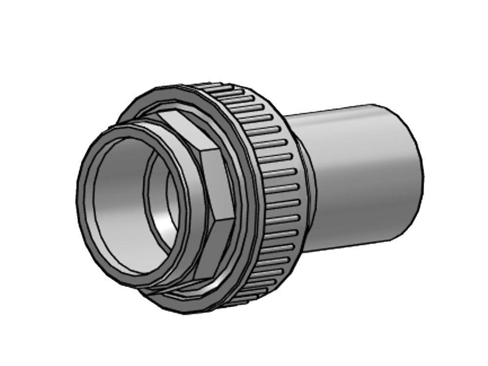 Overgangskoppeling pvc-pe 63mm - sdr 17