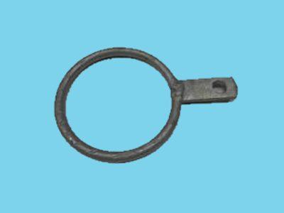 Ring enkel lip voor buis 89mm, 25 stuks