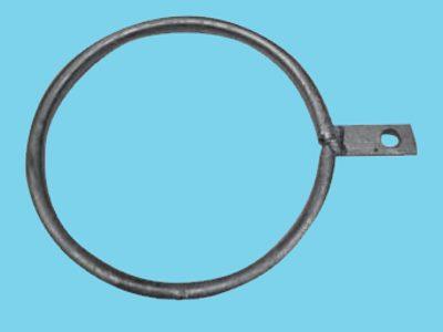 Ring enkel lip voor buis 140mm, 25 stuks