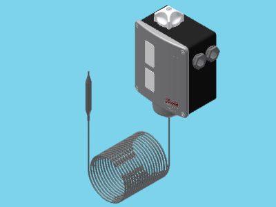 Danfoss RT 108 thermostaat afstandvoeler capillair 30...140