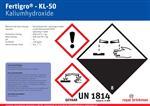 Sticker Fertigro KL-50 Bulkvat