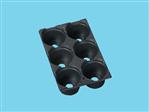 Teku tray TP 1828-9AZ/6 zwart 7360 ep