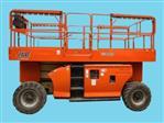 Schaarhoogwerker ruw terrein diesel W.H.11.90mtr Platform